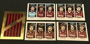 FIGURINA CALCIATORI ALBUM CALCIO FLASH 83 1982-83  MILAN SCEGLI DALL'ELENCO
