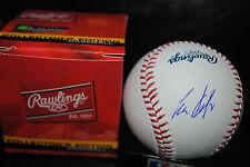 Carlos Delgado Toronto Blue Jays hand signed baseball  in person New York Mets