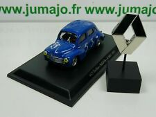 RE58/73 G lot voiture 1/43 Eligor renault 4 CV TYPE R 1063 bol d'or insigne