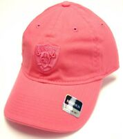 f34fec6c49b Oakland Raiders NFL Reebok Pink Slouch Relaxed Hat Cap Tonal Logo Women s