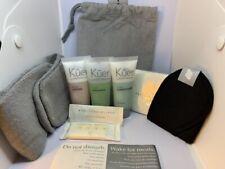 New! Kuer ~Full Travel Kit ~Soap, Body, Hair & Vanity Kit ~9pc set