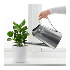 IKEA Galvanised Watering Can Greenhouse Indoor Outdoor Gardening Gallon Pot