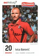 Ivica Banovic Autographed Photo Croation Midfielder / Hallescher Fc
