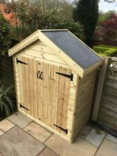 MADE TO MEASURE TANALISED GARDEN SHEDS / STORAGE / TOOL STORE  / - GARDEN SHED