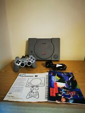 Sony Playstation One Console SCPH-7502 Tested, Official Sony Controller PS1