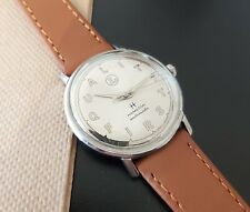 """Hamilton automatic watch with custom """"Quality First"""" dial automatic vintage"""