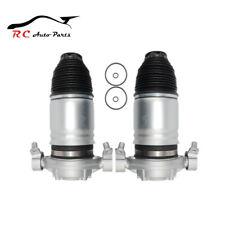 2PCS Rear Left Right Air Suspension Spring Bag VW Touareg Porsche Cayenne 11-16