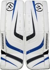 New Warrior Ritual Intermediate hockey Goalie Leg Pads 30+1 White Black Royal