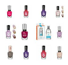 Sally Hansen Nail Polish Complete Salon Manicure & Miracle Gel Nail Polish New