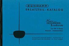 Zündapp Super Combinette typ 429 Ersatzteil Liste Teile Katalog Buch Neu