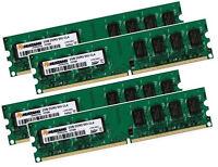 4x 2GB 8GB SAMSUNG RAM PC-Speicher DDR2 667 Mhz 240 pin DIMM PC2-5300U CL5