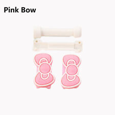 Protective USB Data Cable Line Protector Anti Breaking Sleeve for iPhone 2017 Pink Bow