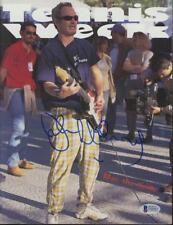JOHN McENROE signed 1997 Tennis Week magazine BAS (Beckett) certified AUTOGRAPH