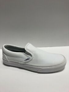 Vans Men's Made For Makers, Classic Skateboarding Shoes-White, Size 8.5M.
