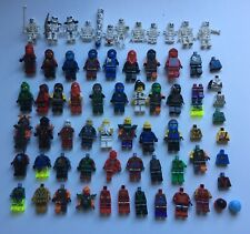 LEGO Minifigures Ninjago Bulk Lot Ninjas + Skeleton Army Genuine LEGO