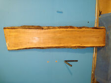 #6540, spalted Tiger Maple Live Edge Slab table top lumber turning wood rustic