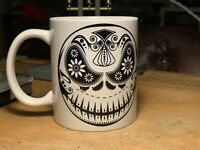 Jack Day Of The Dead Sugar Skull Mug - Nightmare Before Christmas Coffee Cup