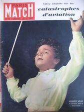 PARIS MATCH N° 0067 ROBERTO BENZI AVIATION SAÏGON-PARIS TRENET LA MAGNANI 1950
