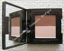 Laura Mercier Sateen Eye Colour Shadow Duo Sandstone Cognac 2.6g Extremely Rare
