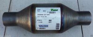 Walker 65201 UNIVERSAL-KATALYSATOR Rund 50,5 / 54,5mm bis 2,5l 2500ccm E2 für VW
