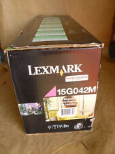 Lexmark 15G042M Magenta Toner Cartridge Genuine