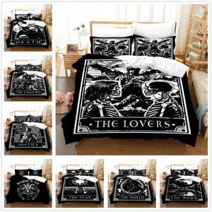 Tarot The Lovers 3D Bedding Set 2/3PCS Duvet Cover & Pillowcase(s) Gift AU2F