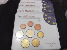 Pièces euro d'Allemagne Année 2002