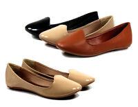 lalite-2-b New Fashion Nubuck Slip On Casual Women Flats Wonem Shoes Black 6.5