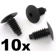 10x BMW Plastic Trim Plug Clip- For upholstery, trunk & boot linings