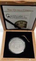 Ivory Coast 1500 Francs Silver Coin - Quibla Compass in Box W/COA