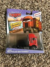 Disney Pixar Cars Deluxe Jerry Recycled Batteries Semi