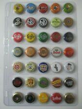 Lot n°1 de 35 capsules de bières belges toutes différentes Chouffe Leffe ...
