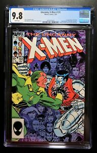 UNCANNY X-MEN #191 CGC 9.8 - WHITE PAGES * 1st Appearance of NIMROD *