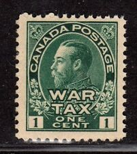 $Canada Sc#MR1 M/NH/F-VF+, OG, sound War Tax stamp, Cv. $60