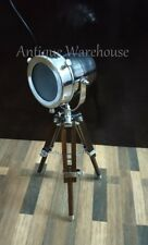 Nautical Desktop Small Lamp With Tripod Modern Searchlight Lamp Decorative