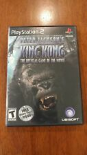 Peter Jackson's King Kong Game of the Movie Sony PlayStation 2 MINT IN DVD CASE