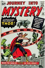 Journey Into Mystery #83 Facsimile Reprint Cover Only w/Orig ads 1st app THOR