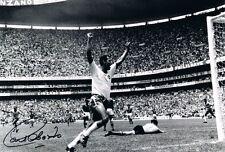 Signed Carlos Albero Brazil World Cup 1970 Autograph Photo (2)