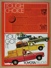 1977 Toyota Half-Ton Long Bed Deluxe SR-5 Sport Pick-up Trucks vintage print Ad