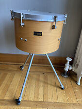 """Vintage Sonor Timpani Tom Drum 13"""" with Legs Roto Tom Action Made in Germany"""