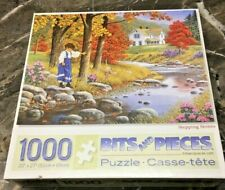 "BITS & PIECES 1000 PIECE PUZZLE ""STEPPING STONES"