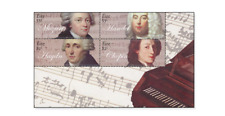 IRL0919 Famous composers 3 stamps and block MNH IRELAND 2009