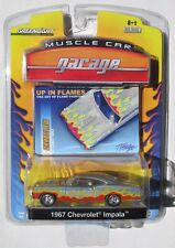GREENLIGHT UP IN FLAMES SERIES 1967 CHEVY IMPALA 427  1/4000