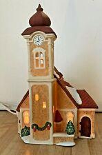 Dept 56 Alpine Village Alpine Church #6541-2 w/ light & box 1987