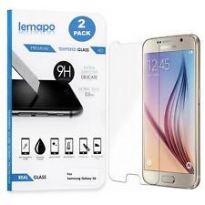 2x Panzerglas für Samsung Galaxy S6 Schutzglas Displayglas Folie Echt Glas 9H