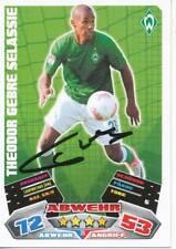 Gebre Selassie    SV Werder Bremen  Match Attax Card 2012/13 signiert 401433