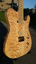 Carvin Telecaster neck thru w/original Fender Tweed HSC Sperzel locking tuners
