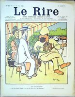 Le RIRE N° 337 du 20 Avril 1901 - les explorateurs