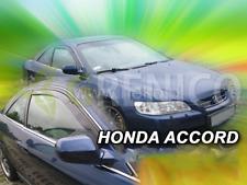 HONDA ACCORD VI 3-portes 99-02 Deflecteurs de vent 2pièces versa USA HEKO Bulles