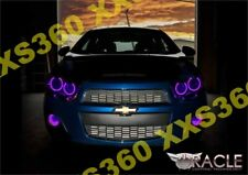 ORACLE Halo HEADLIGHTS for Chevrolet Sonic 12-15 PURPLE LED Angel Eyes